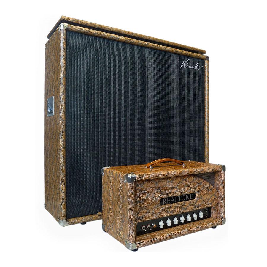 Snakeskin 412, Board + Amp/Front Black Basket