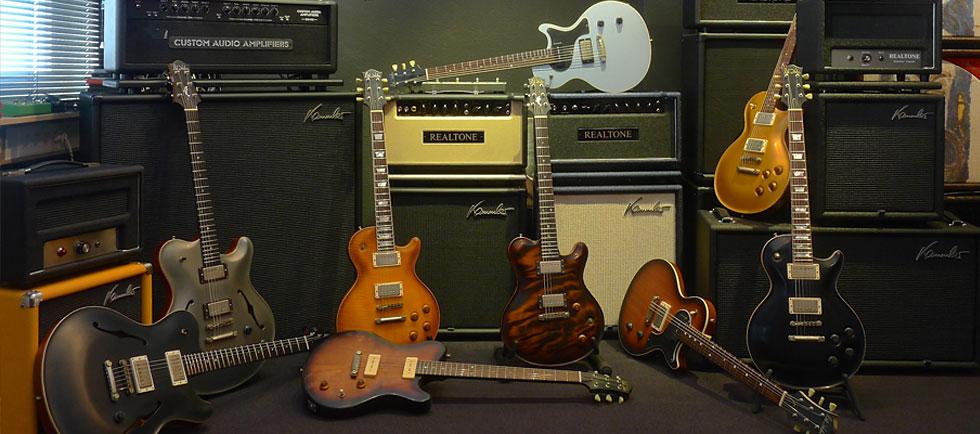 Kammler Cabinets Showroom Realtone Nik Huber Gitarren
