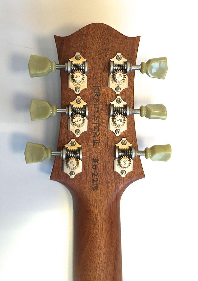 Nik Huber –Krautster II Custom – Exceptional Maple Top 2