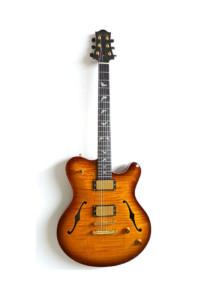 Nik Huber – Rietbergen Custom –Exceptional One-Piece Maple Top - Faded Tobacco Sunburst 5