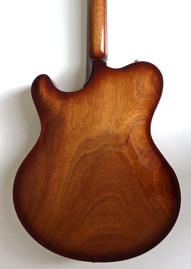 Nik Huber – Rietbergen Custom –Exceptional One-Piece Maple Top - Faded Tobacco Sunburst 3