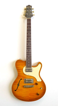 Nik Huber – Surfmeister – Maple Top - Faded Sunburst