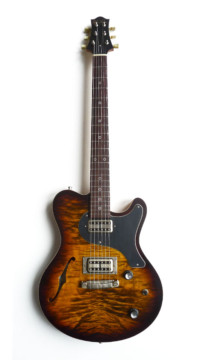 Nik Huber – Surfmeister – CurlyMaple Top - Tigereye Burst