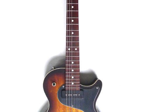 Nik Huber –Krautster II Custom –  One-Piece Body – All 2-Tone Sunburst