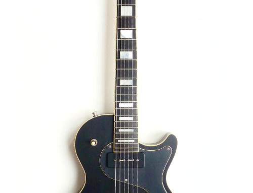 Nik Huber – Krautster II Custom –Worn Onyx Black