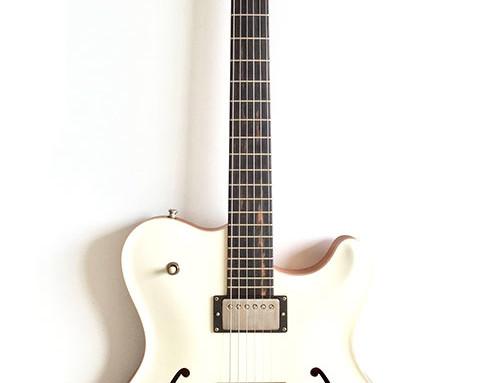 "Nik Huber – Rietbergen Custom –Worn Vintage White ""Nitro"""