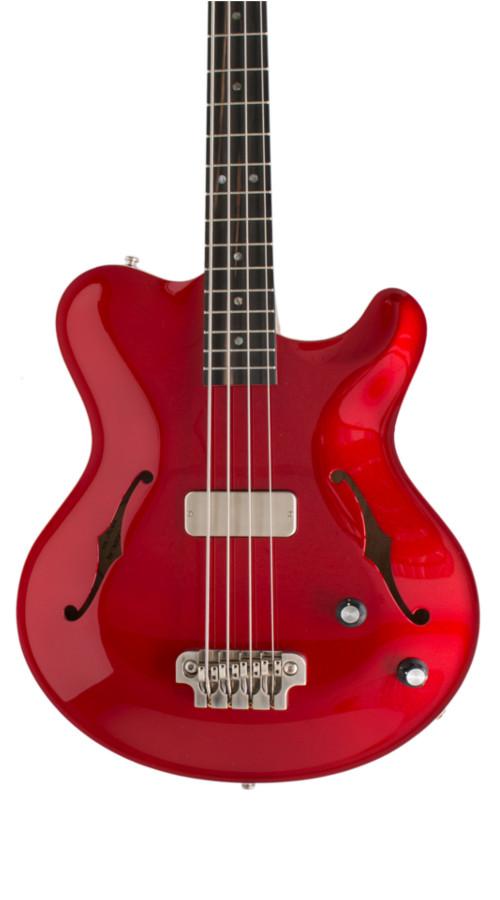 Nik Huber – Rietbergen Bass - Candy Apple Red