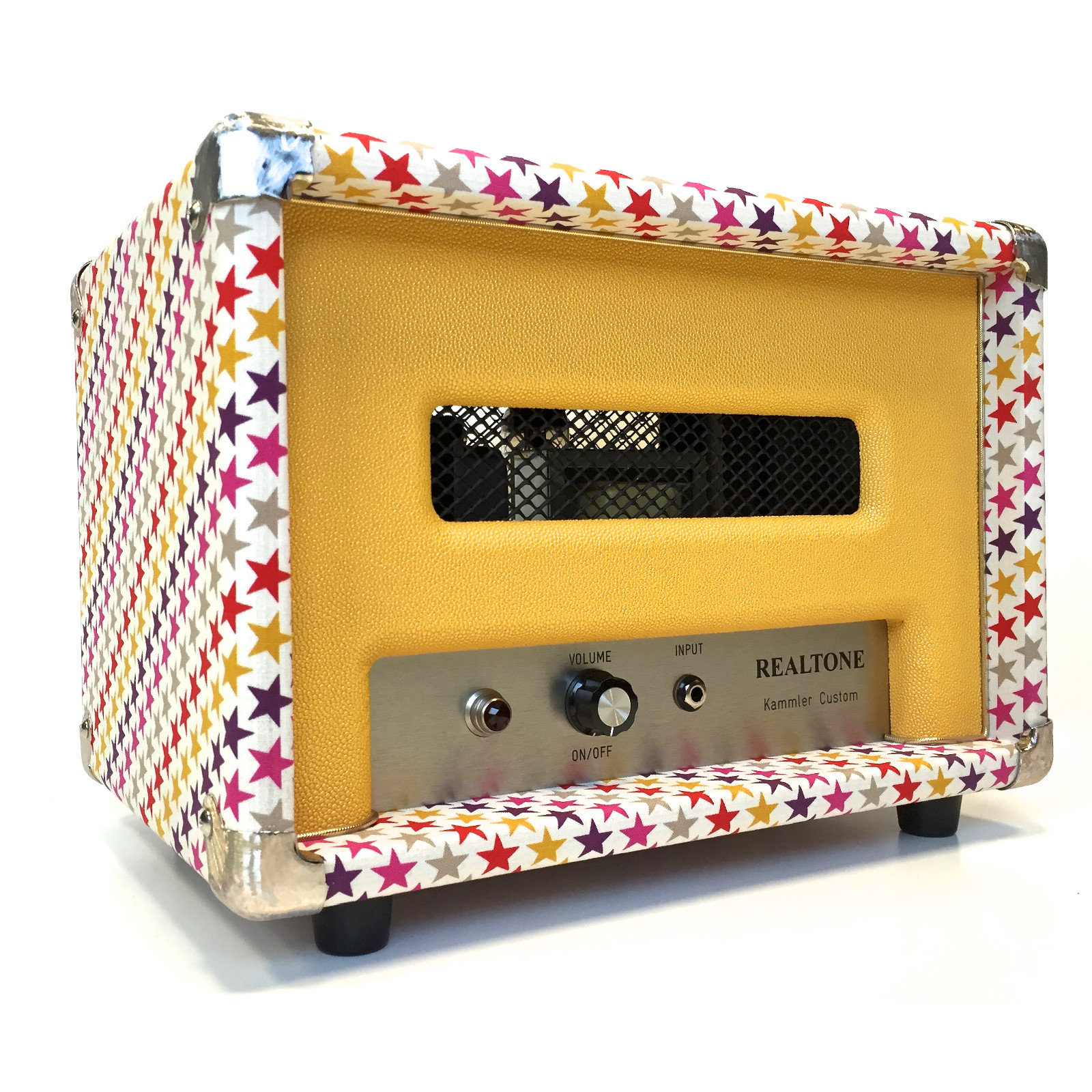 Custom-Amp-Fabric-PopstarsStingray-Yellow